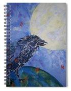 Raven Speak Spiral Notebook