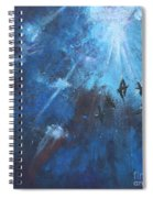 Ravens Of The Blue Spiral Notebook