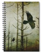 Ravens Of The Mist Artistic Expression Spiral Notebook