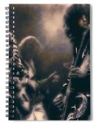 Raw Energy Of Led Zeppelin Spiral Notebook