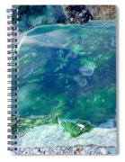 Raw Jade Rock Spiral Notebook