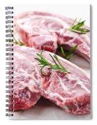 Raw Lamb Chops Spiral Notebook