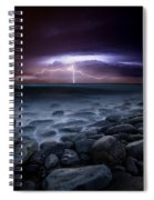 Raw Power Spiral Notebook