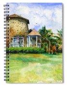 Rawlin's Plantation Inn St. Kitts Spiral Notebook