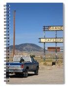 Rawlins Wyoming - Grandma's Cafe Spiral Notebook