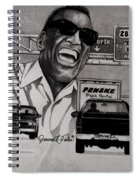 Ray Charles Spiral Notebook