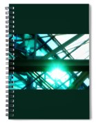 Rays And Beams Spiral Notebook