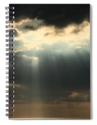 Rays From Heaven Spiral Notebook