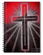 Rays Of Love Spiral Notebook