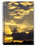 Rays Of Sunlight Spiral Notebook