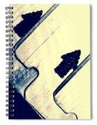 Razor Blades Spiral Notebook