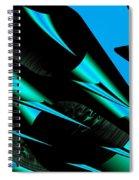Razor Sharp Spiral Notebook
