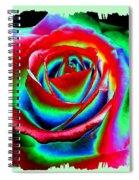 Razzle Dazzle Rose Spiral Notebook