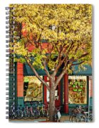 Re-cycle Bike Shop Spiral Notebook