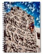 Reaching A Climbmax Spiral Notebook