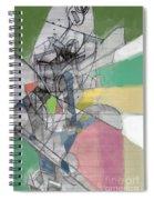 Reaching A Settled Peace 2b Spiral Notebook