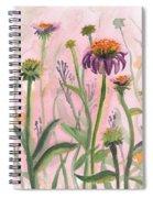 Reaching Flowers Spiral Notebook