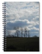 Reaching To The Clouds Spiral Notebook