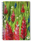 Reaching Up Spiral Notebook