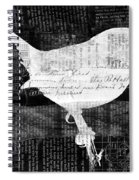 Reader Bird Spiral Notebook