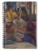 Reading A Letter Spiral Notebook