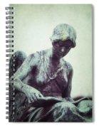 Reading Angel Spiral Notebook