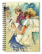 Reading The News 06 Spiral Notebook
