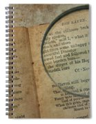 Reading The Raven Spiral Notebook