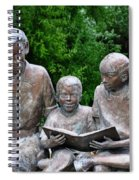 Reading The Story Spiral Notebook