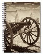 Ready For Battle At Gettysburg Spiral Notebook