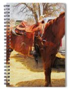 Ready For Some Ropin Spiral Notebook