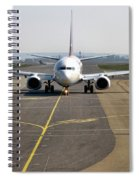 Ready For Take Off Spiral Notebook