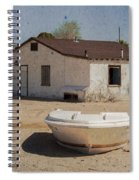 Ready For The Flood Spiral Notebook