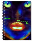 Ready Set And Go Spiral Notebook