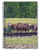 Ready The Ground Spiral Notebook