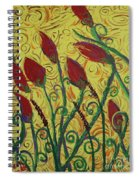 Ready To Bloom Spiral Notebook