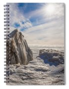 Ready To Let Loose Ice Formation Spiral Notebook