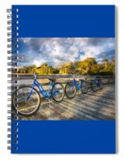 Ready To Ride Spiral Notebook