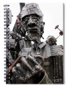 Ready To Rumble Spiral Notebook