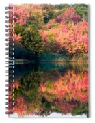 Ready To Sail In The Fall Colors Spiral Notebook
