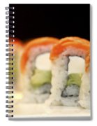Ready To Serve Sushi  Spiral Notebook