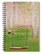 Ready To Take A Swing Spiral Notebook