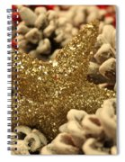 Real Gold Spiral Notebook