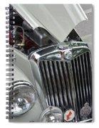 Real M G Spiral Notebook