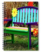 Really Groovy Spiral Notebook