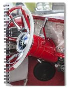 Really Red 1959 Lincoln Interior Spiral Notebook