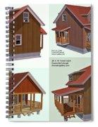 Realm Gallery Cabin Designs Spiral Notebook