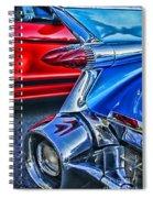 Rear Tail Lights Spiral Notebook
