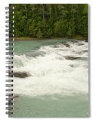 Rearguard Falls Of The Fraser River Spiral Notebook