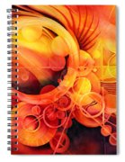 Rebirth - Phoenix Spiral Notebook
